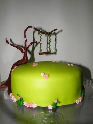Swing cake - Cake by bolosdocesecompotas