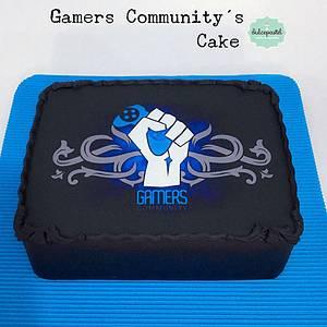 Torta Gamers Medellín - Cake by Dulcepastel.com