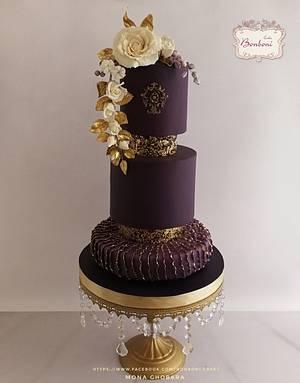 Violet  - Cake by mona ghobara/Bonboni Cake