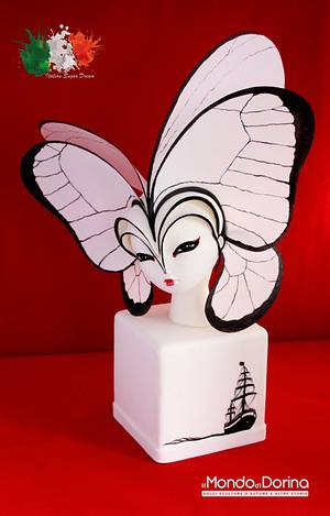 Italian Sugar Dream Collaboration - Madame Butterfly - Cake by IlMondodiDorina