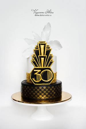 The Great Gatsby cake - Cake by Alina Vaganova