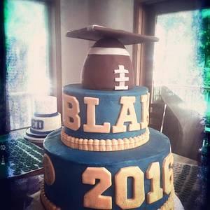 2016 graduation cake - Cake by Batter Up Cakes