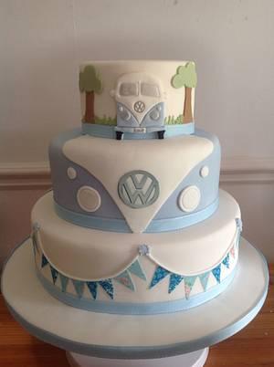 VW wedding cake - Cake by Iced Images Cakes (Karen Ker)
