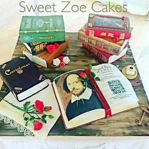 Shakespeare Cake - Cake by Dimitra Mylona - Sweet Zoe Cakes