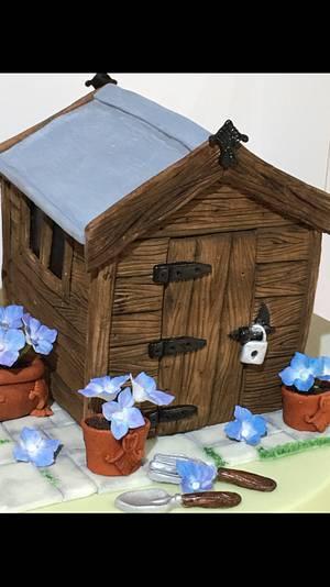 Shed & Garden cake - Cake by Elli Warren