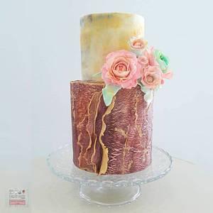 Anniversary Cake - Cake by Unique Cake's Boutique
