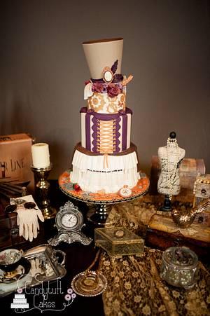 Steampunk Wedding cake - Cake by Kathryn
