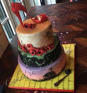 Wicked 30th - Cake by Liz