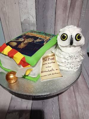Harry Potter - Cake by Daizys Cakes
