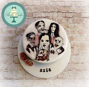 addams family - Cake by Bella Cakes