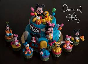 Mickey mouse project - Cake by Eliska