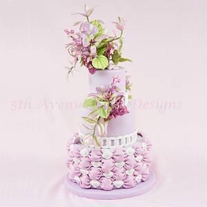 Mariposa Lily Cake  - Cake by Bobbie