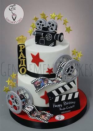 Movie cake - Cake by  Gentlemen's Cakes