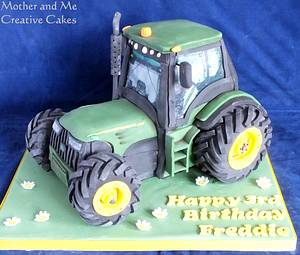 Tractor Cake - Cake by Mother and Me Creative Cakes