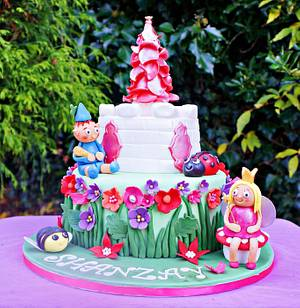 Ben and Holly Birthday Cake - Cake by Princess of Persia