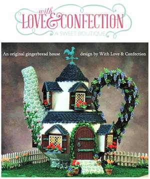 GINGERBREAD TEAPOT HOUSE (not Cake)  - Cake by With Love & Confection