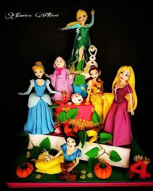 Principesse - Cake by Enryaltieri