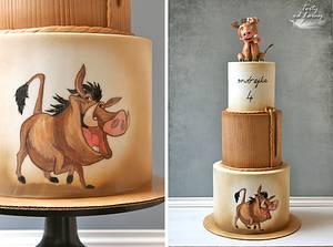 Wild boar :-) - Cake by Lorna
