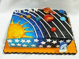 Solar System Cake  - Cake by Larisse Espinueva