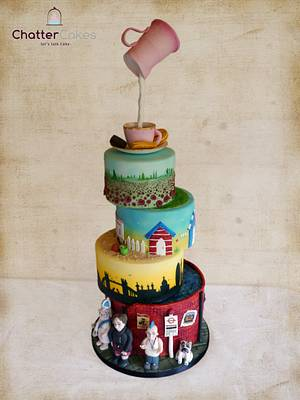 Best of British - Cake by Chatter Cakes