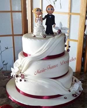 Wedding cake - Cake by Marie-France