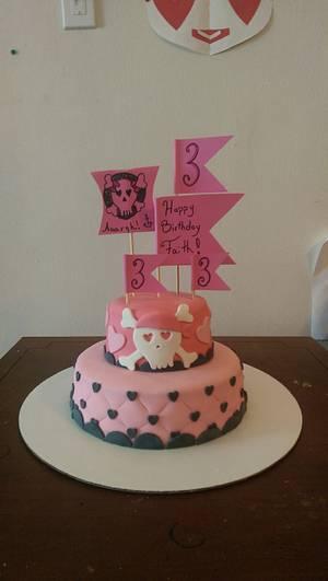 Faith's Pirate Cake - Cake by Cinnemin Gurl