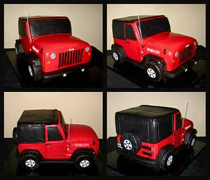 Jeep Cake - Cake by Cuteology Cakes
