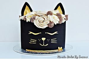 Black cat cake - Cake by rincondulcebysusana