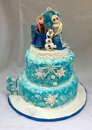 Frozen Birthday Cake - Cake by Goreti