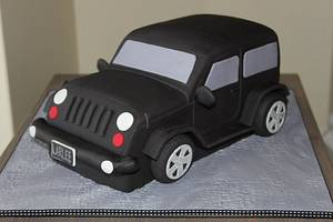 Jeep Cake - Cake by Emma's Cakes and Bake