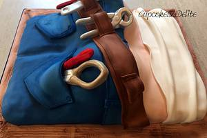 Plumber's Butt Cake - Cake by Cupcakes2Delite