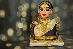 Tamil Bride For Beautiful Srilanka Collabaration - Cake by Dr RB.Sudha