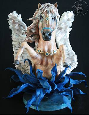 "Arabian Pegasus ""The Arabian Nights Collaboration"" - Cake by İnci Orfanlı Erol"