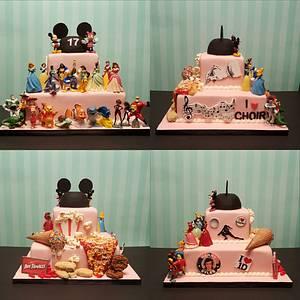 Birthday collage  - Cake by Teresa Frye
