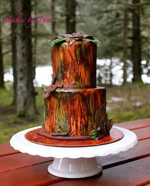 Camouflage wedding cake - Cake by Bakermama