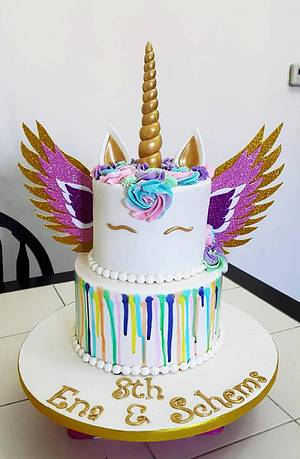 UNICORN WITH WINGS - Cake by Love Cakes