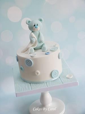 Cute Teddy Cake - Cake by Carol