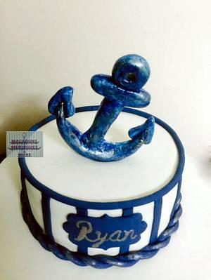 Nautical Dreams - Cake by RupalsCakes (MACARONS MERINGUES &MORE )