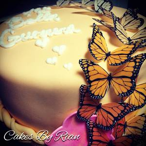 Butterfly Cake - Cake by Cakes By Rian
