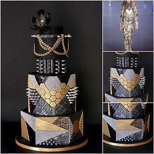 Phillip Plein inspired - Cake by Delice