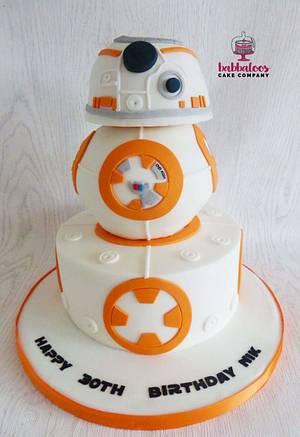 Star Wars Cake - Cake by Babbaloos Cakes