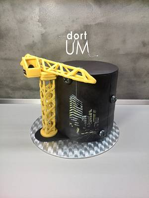 Crane cake - Cake by dortUM