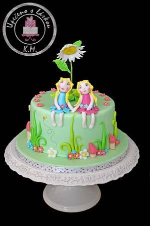 Fairy Friends - Cake by Tynka