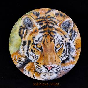 Tiger Class - Cake by Calli Creations