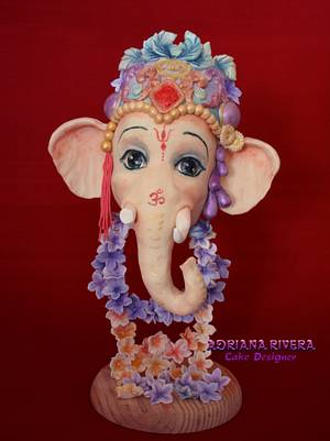 Ganesha Happy Holi - Cake by Aroma de Azúcar