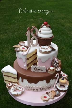 Sweet cake  - Cake by Dolcidea creazioni