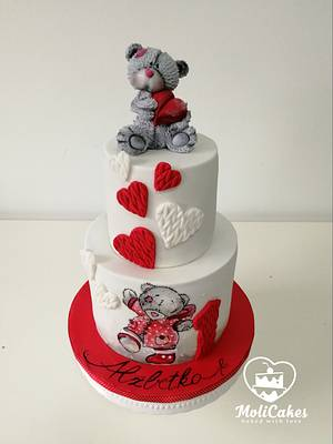 Me to You  - Cake by MOLI Cakes