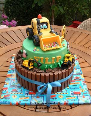 Digger - Cake by Adéla