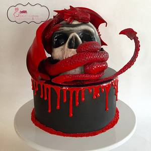 Dragon's Prize - Cake by DCC Cakes, Cupcakes & More...