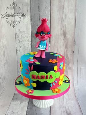 Trolls - Poppy - Cake by Aurelia's Cake